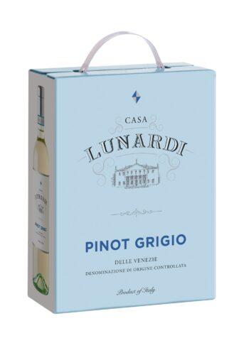 Casa Lunardi Pinot Grigio Venezie 300cl BIB