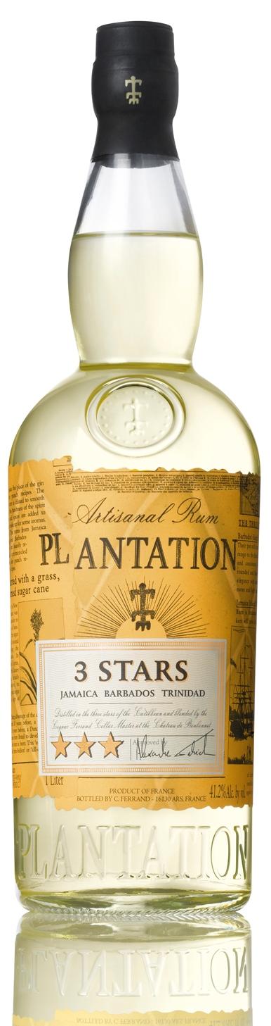 Plantation 3 Stars Artisanal Rum 100cl - Mediato