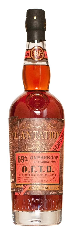 Plantation Oftd Overproof Dark Rum 70cl - Mediato