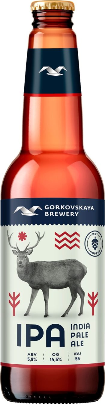 Gorkovskaja Brewery IPA 44cl
