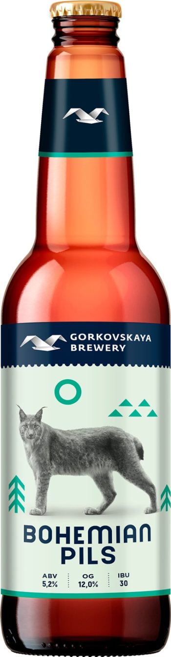 Gorkovskaja Brewery Bohemian Pils 44cl
