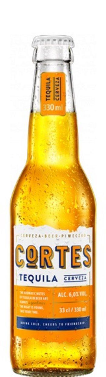 Cortes Beer Tequila 33cl bottle