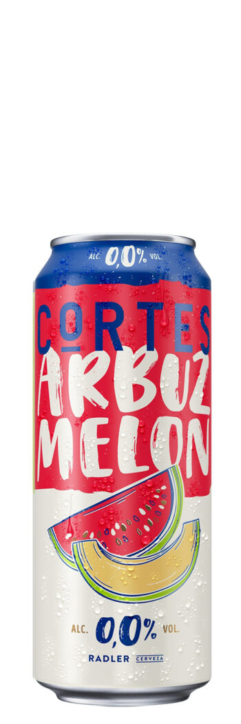 Cortes Radler Watermelon Melon Alcohol-Free 0.0% 50cl CAN