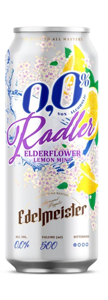 Edelmeister Radler Elderflower Alcohol-Free 50cl CAN