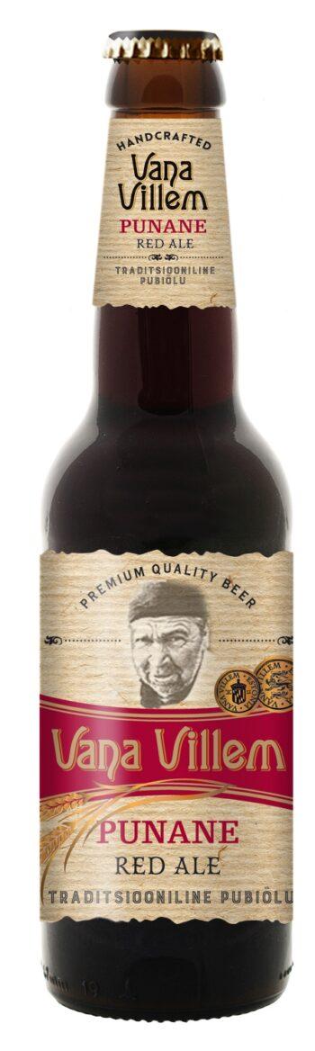 Vana Villem Red Ale Punane 5.2% 33cl