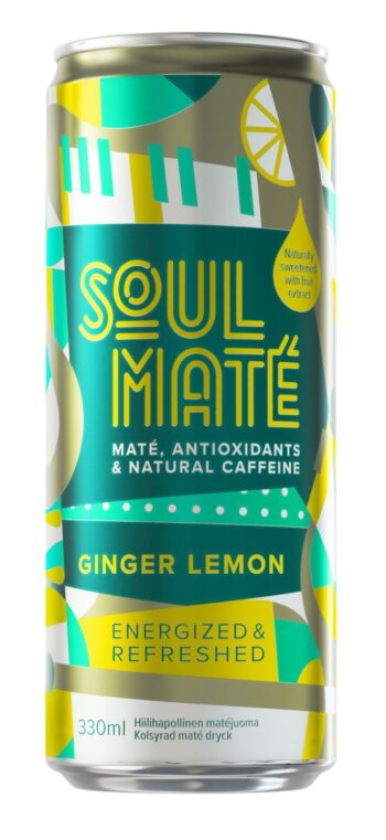 Soul Mate Ginger Lemon 33cl CAN